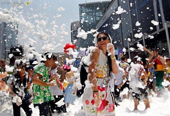 Fiesta de la espuma Extremadura Cuarto Soni