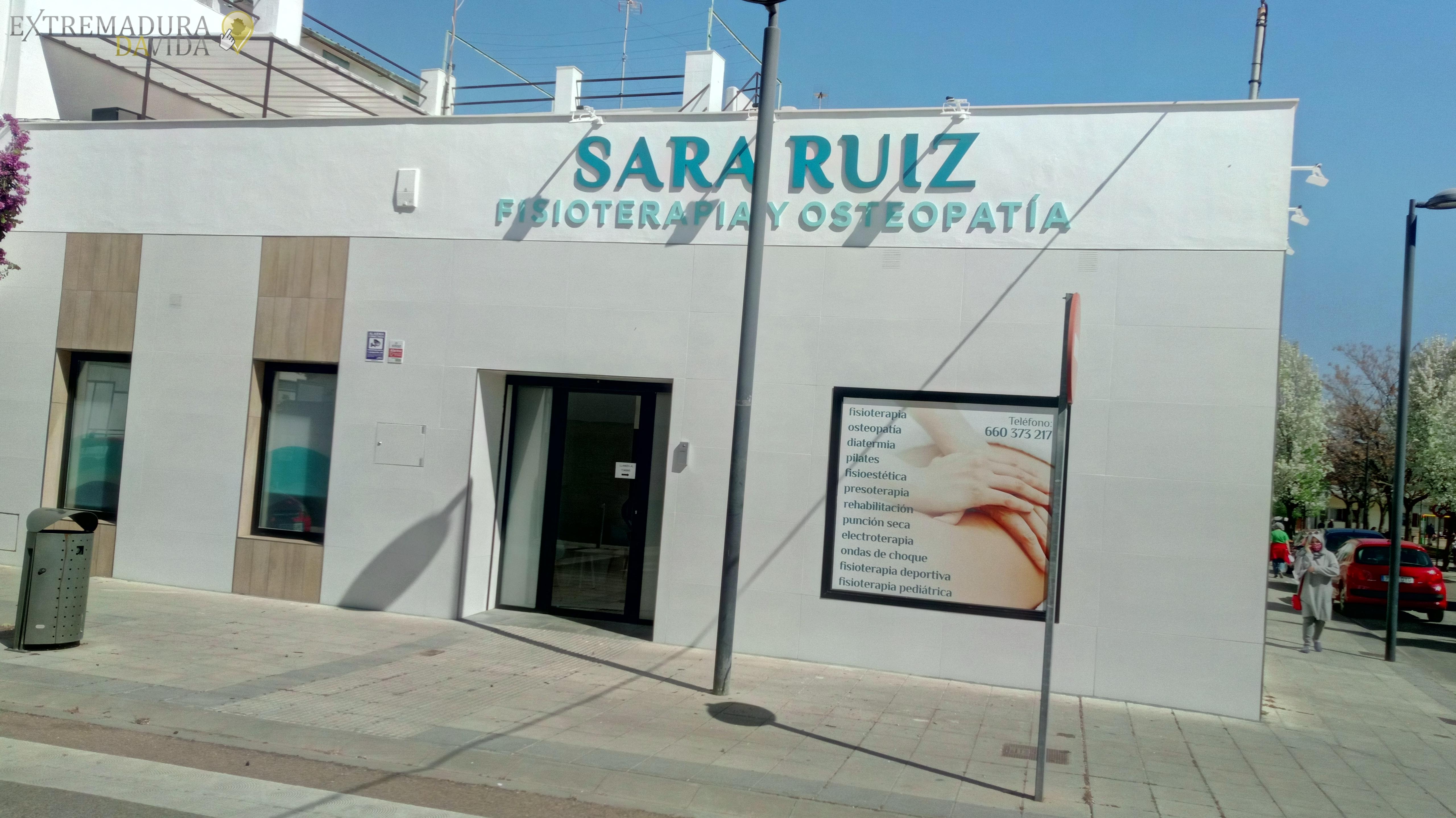 Fisio en Almendralejo Osteopatía Sara Ruiz