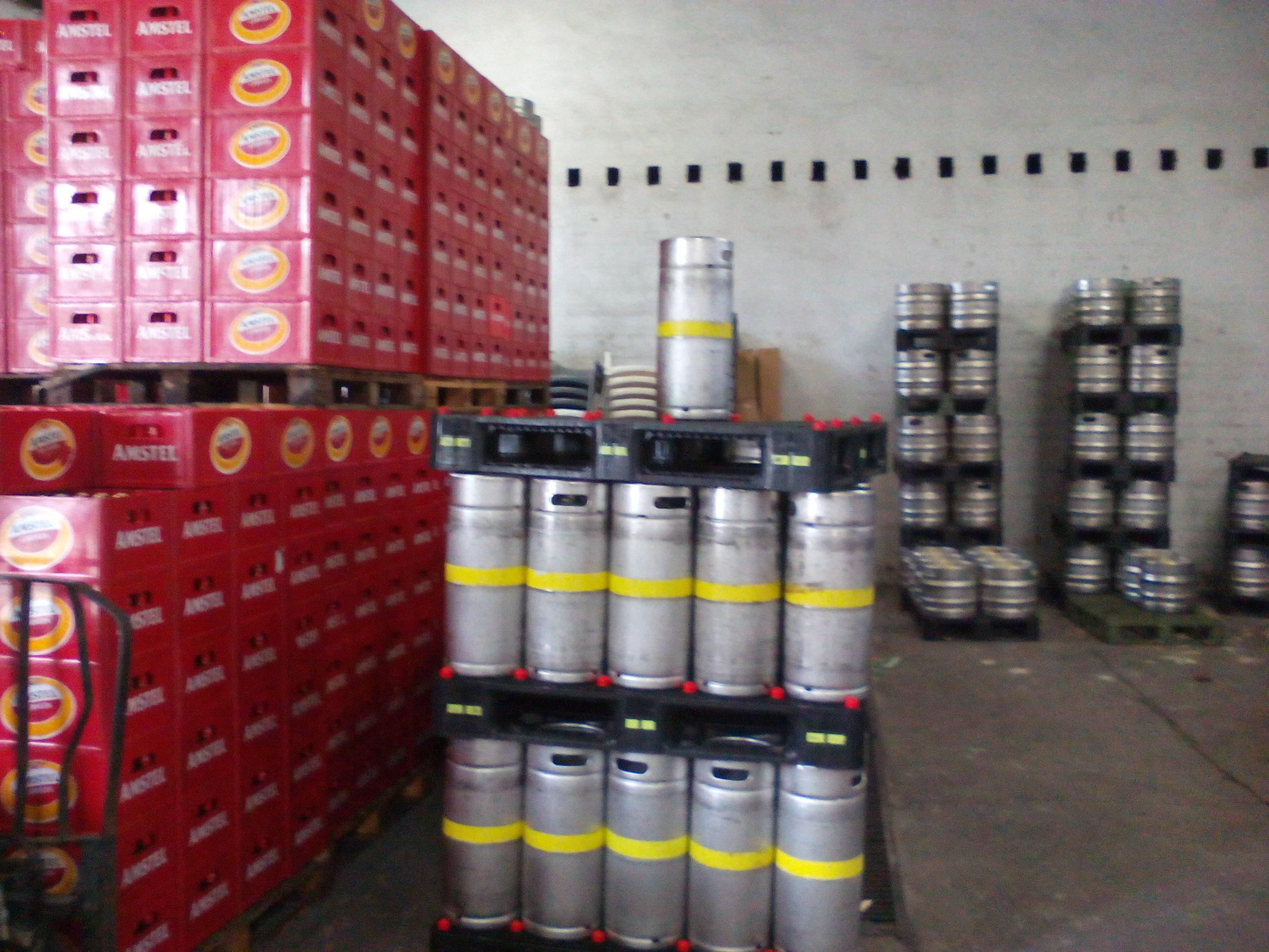 distribuidor de bebidas en la vera Arias