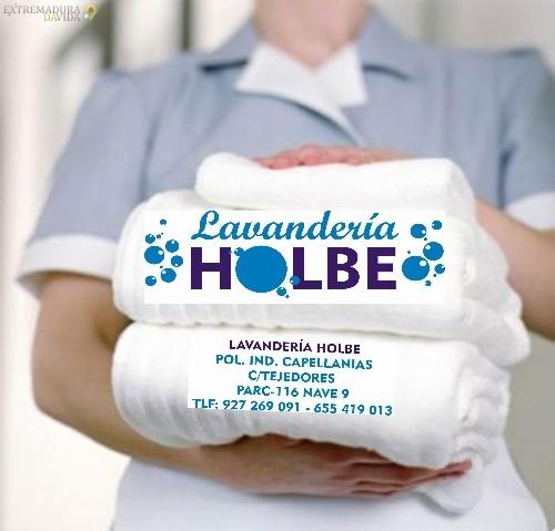 Lavandería industrial en Cáceres Holbe