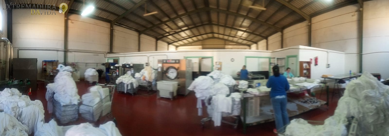 Lavandería Industrial Cáceres Holbe