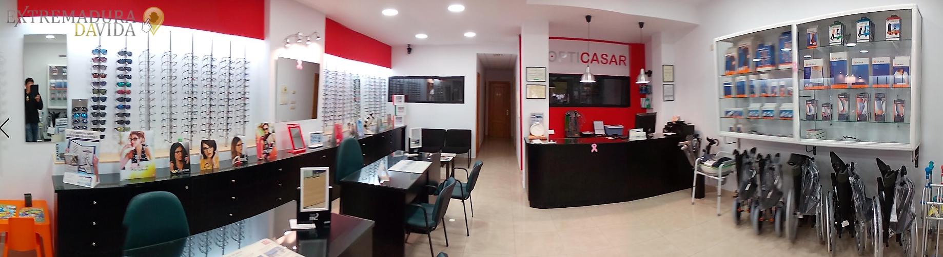 Ortopedía Óptica Casar de Cáceres Opticasar