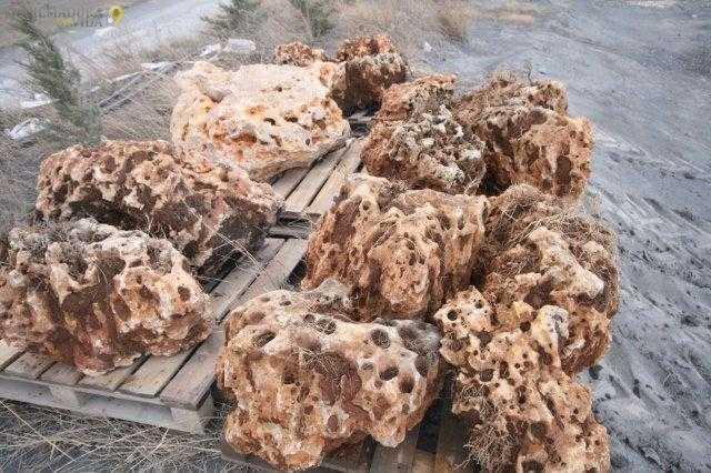 Piedra rocalla ornamental