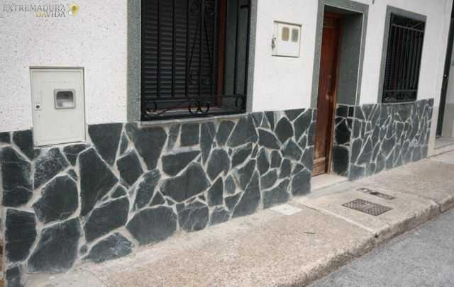 Planchoncillo piedra irregular negra