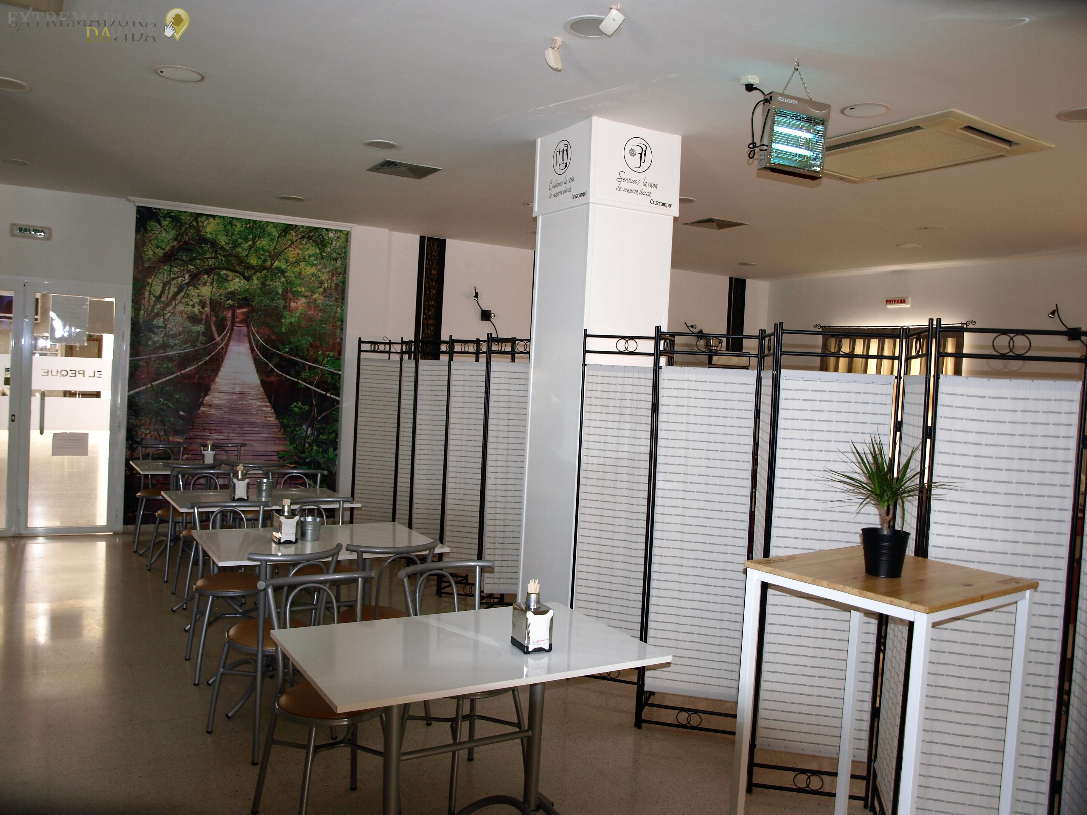 RESTAURANTE CAFETERÍA EN ALMENDRALEJO EL PEQUE - ESTACIÓN DE AUTOBUSES