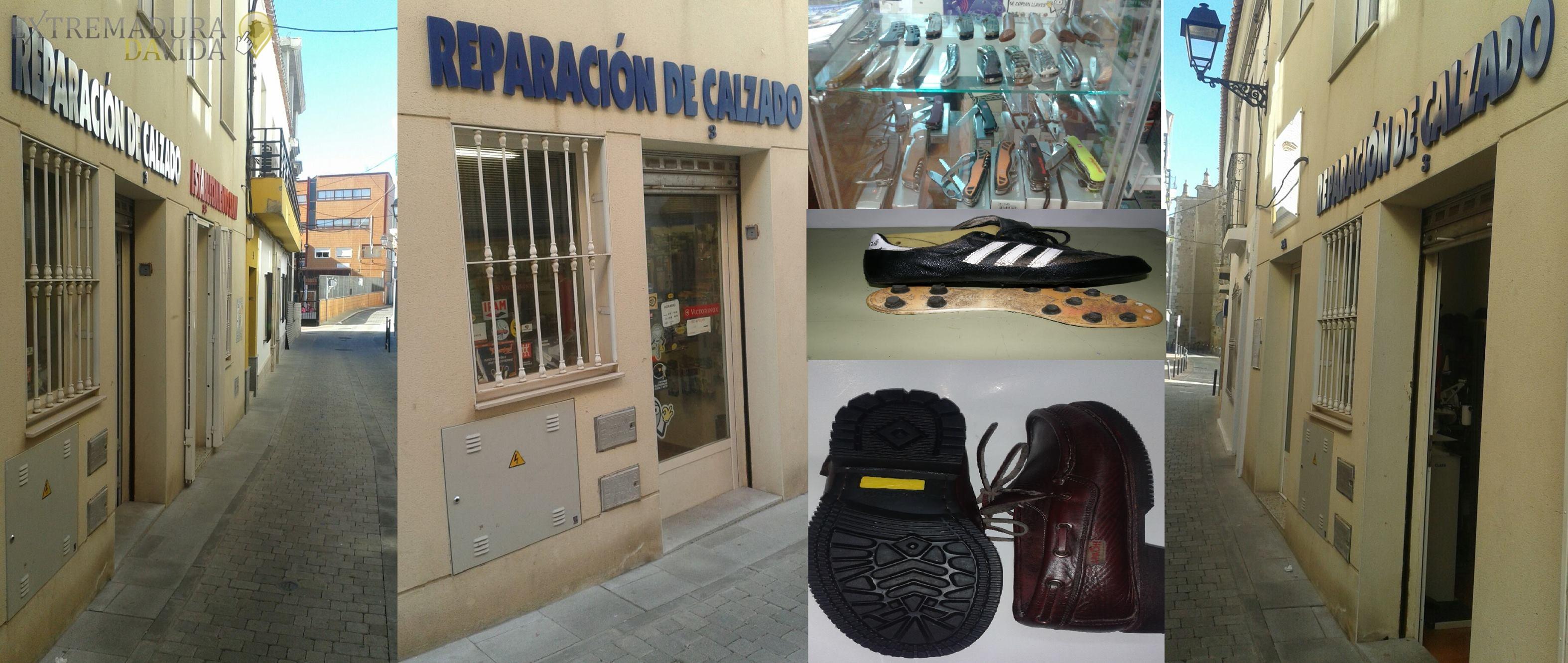 Reparación de calzado en Almendralejo Victor Sanabria