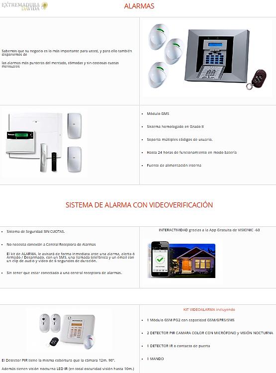Sistemas de seguridad en Cáceres Procatel