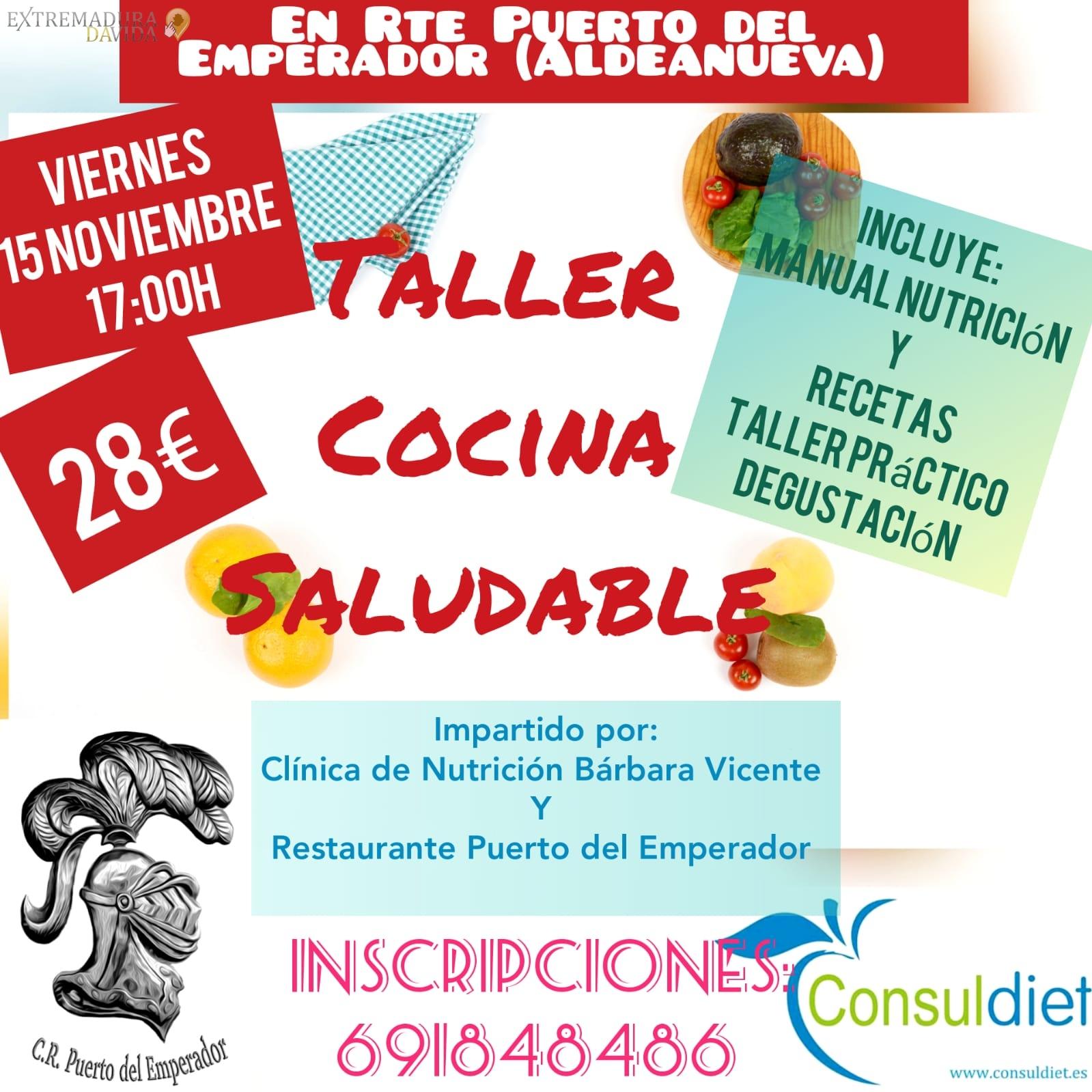 Taller Cocina Saludable en la Vera Consuldiet