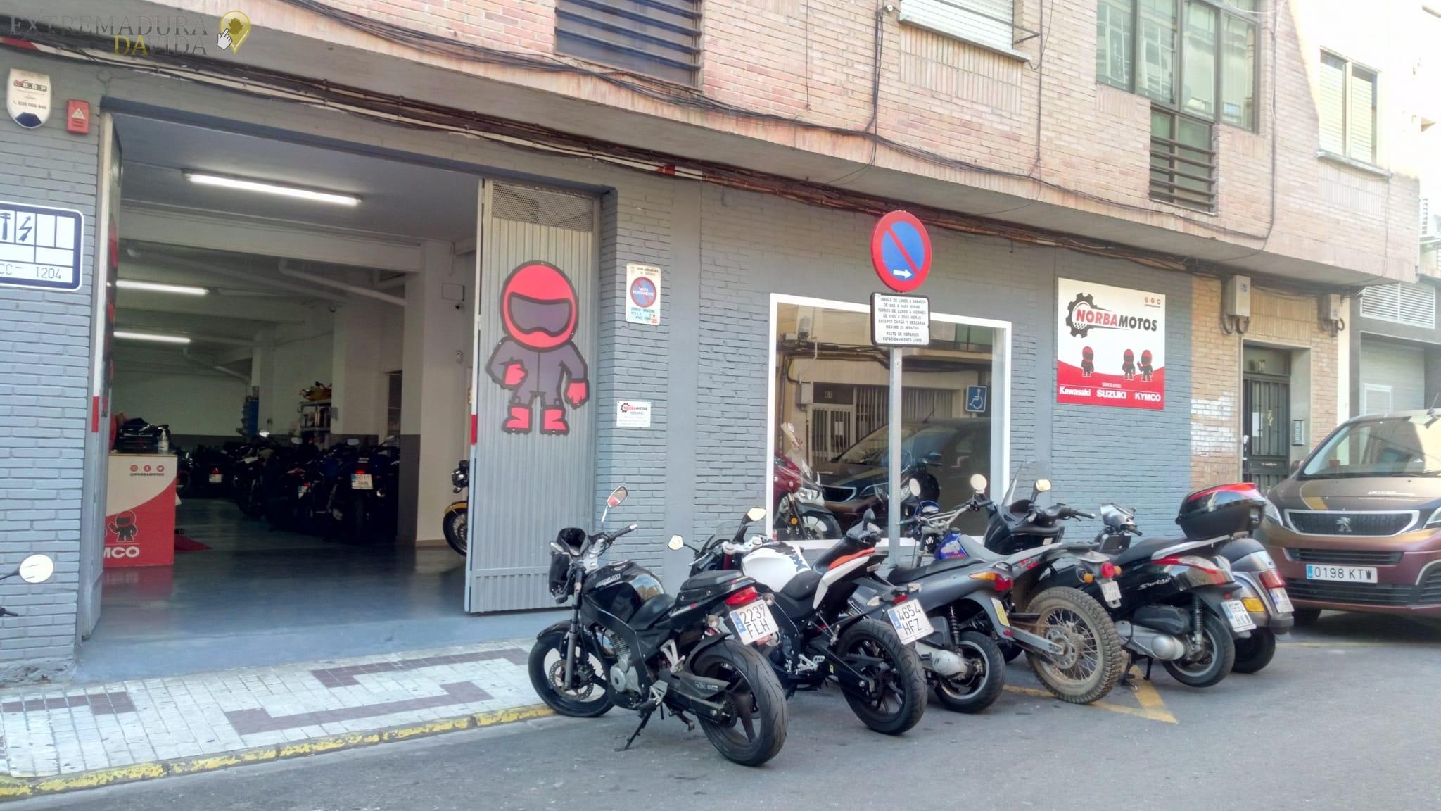 Taller de motos en Cáceres Norbamotos
