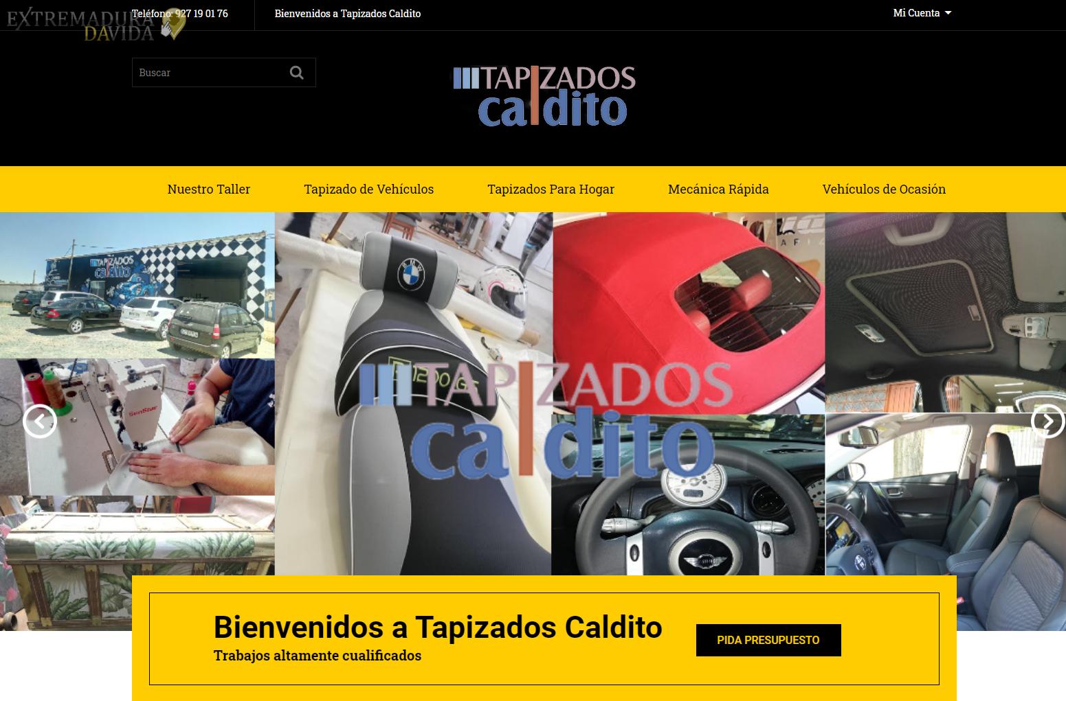 Tapiceros en Cáceres Caldito www.tapizadoscaldito.es