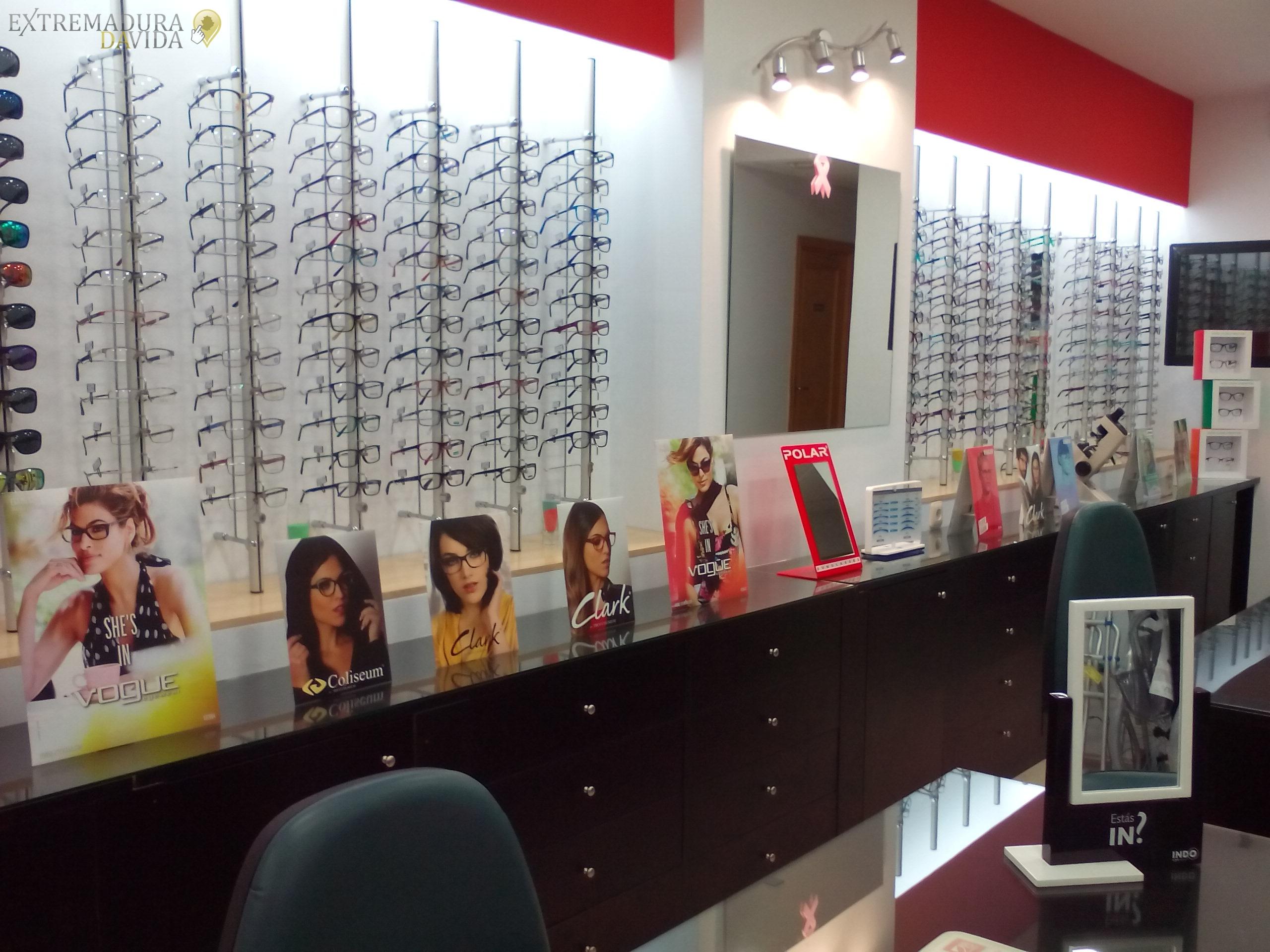 Optica ortopedia Casar de Cáceres tienda