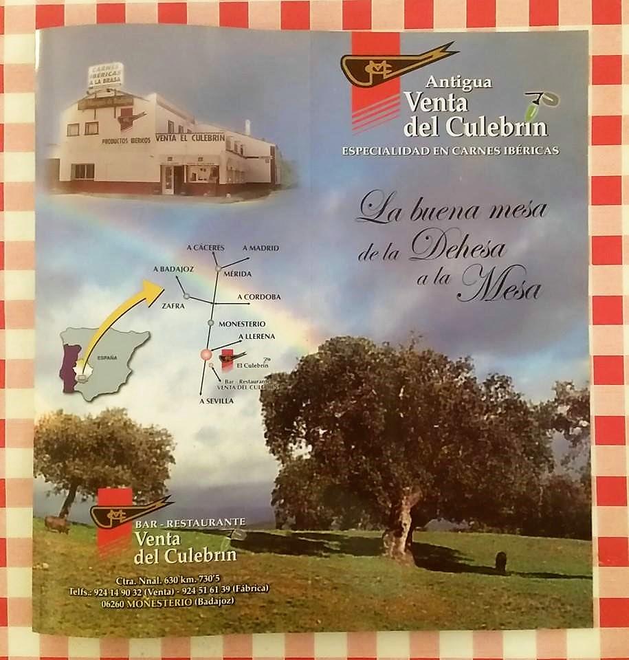 Restaurante Monesterio carretera Venta del Culebrin