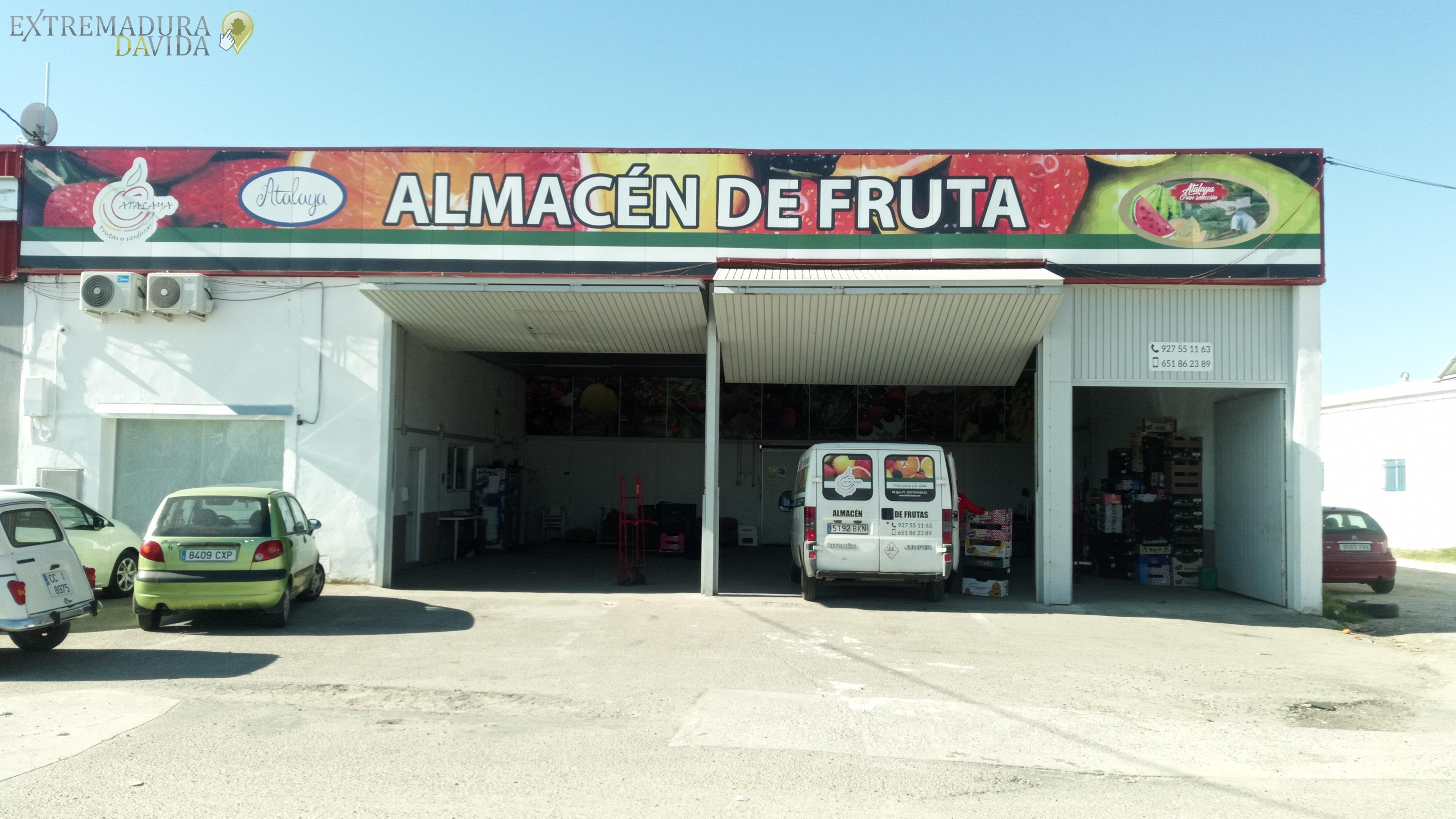 Almacén Mayorista de Frutas y verduras Navalmoral Atalaya Talayuela