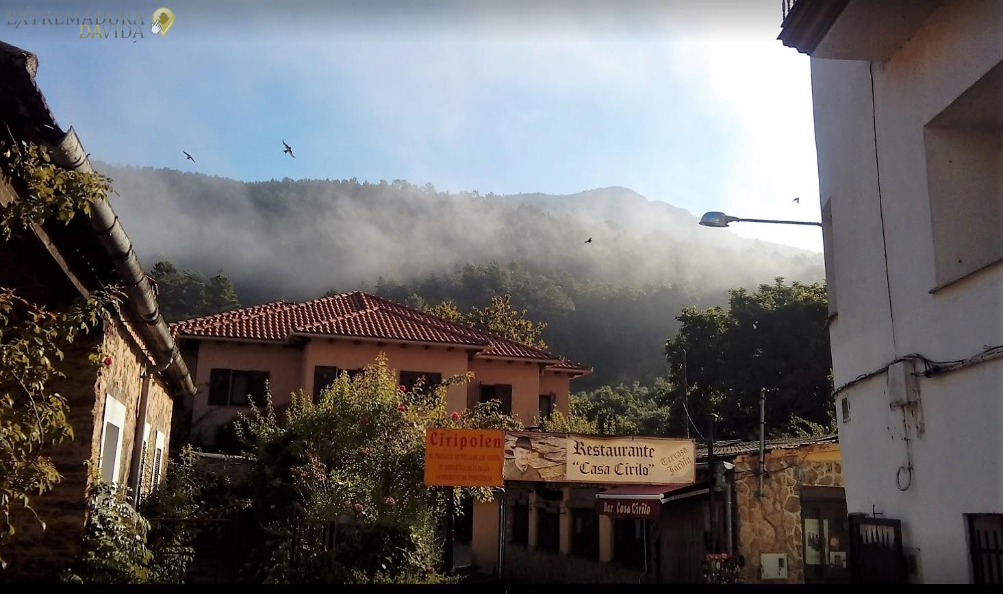 RESTAURANTE BAR EN LAS HURDES EXTREMADURA CASA CIRILO LAS MESTAS