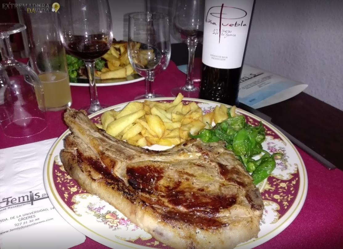 Raciones en Cáceres Temis 2.0 Restaurante