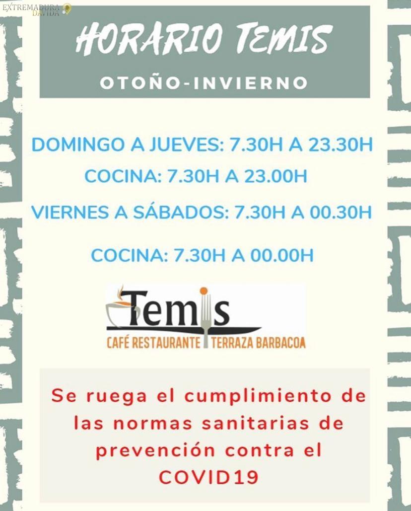 Restaurante con terraza cerrada en Cáceres Temis