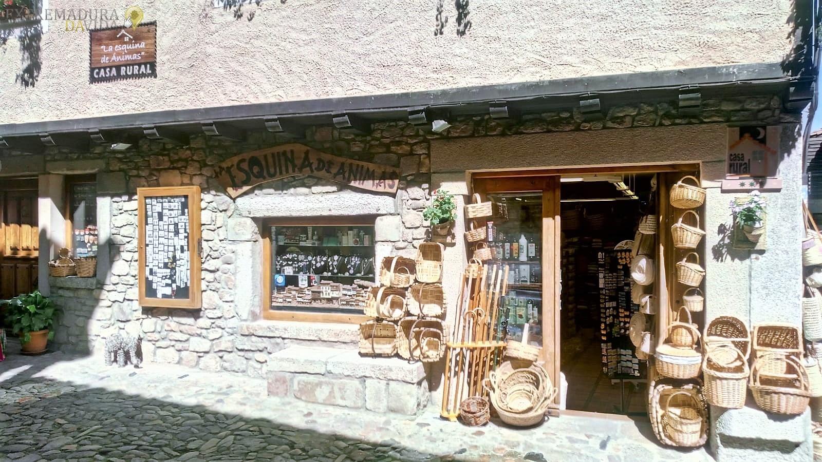 Tienda de regalos en La Alberca La Esquina de Animas