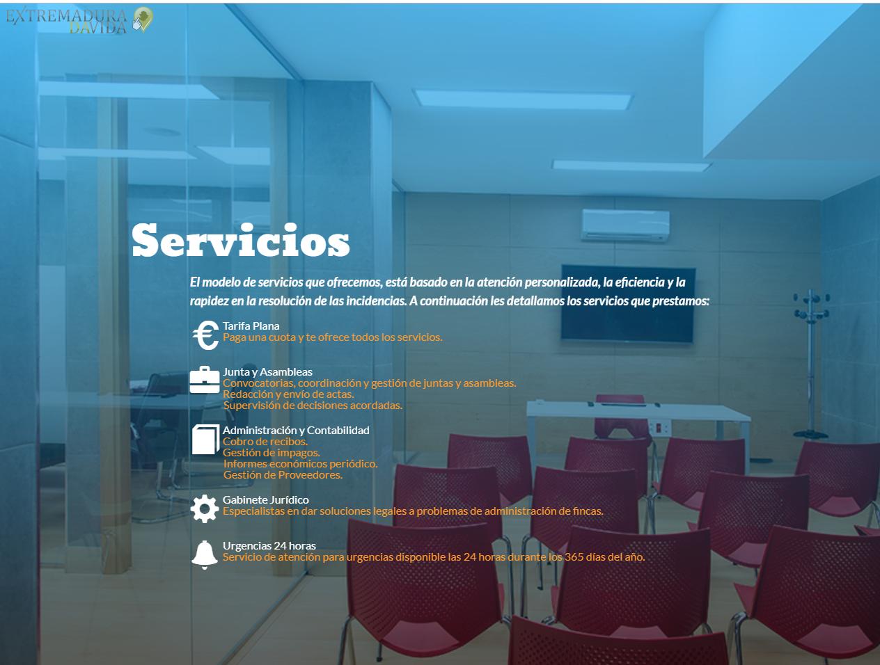 Mantenimientos Comunidades Cáceres Luis Regaña Administración fincas