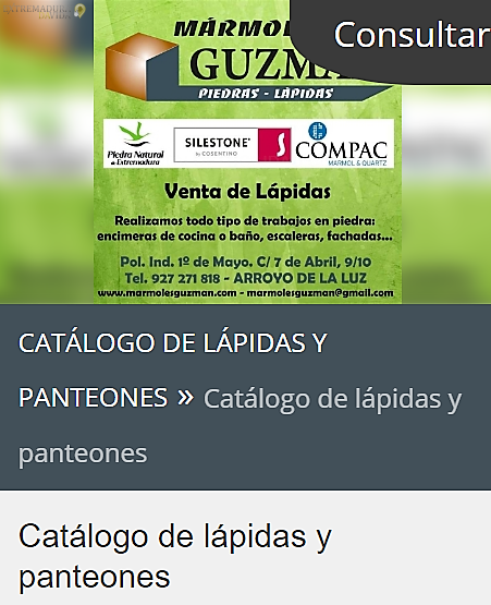 Mármoles en Arroyo de la Luz Guzmán Cáceres