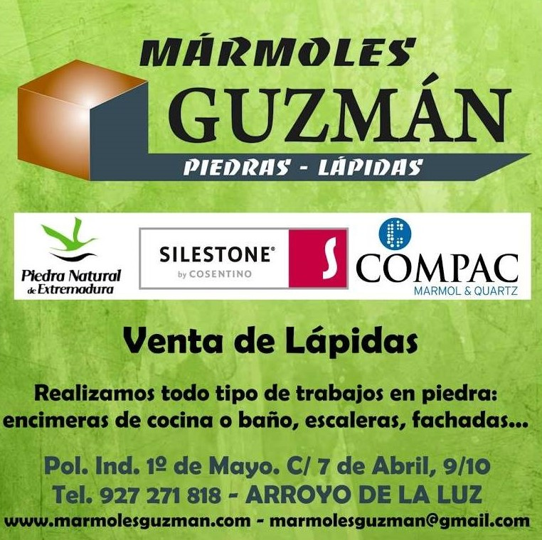 Marmoles Lapidas Cáceres Guzman - Arroyo de la Luz