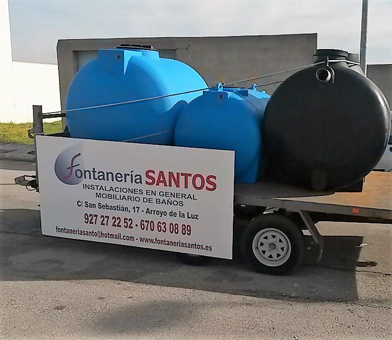 suministros fontaneria climatizacion Cáceres Santos , Arroyo de la Luz