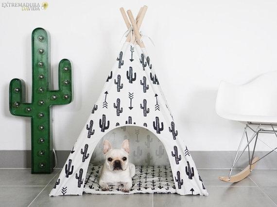 Artículos para mascotas en Cáceres Tipi para perros Todo+Cotas