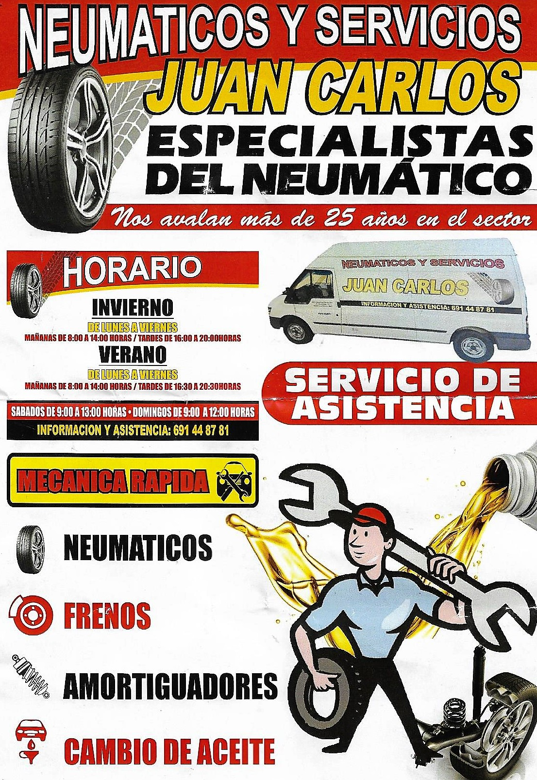 neumaticos ruedas Don Benito Jose Luis