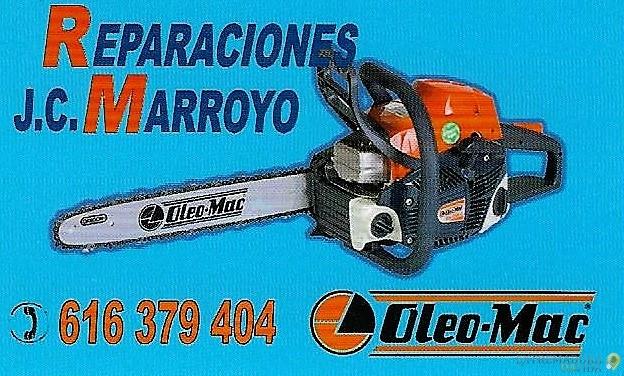 Reparación y Venta De Maquinaria Jardín , Agrícola Forestal Y Ganadera En Cáceres J.C Marroyo
