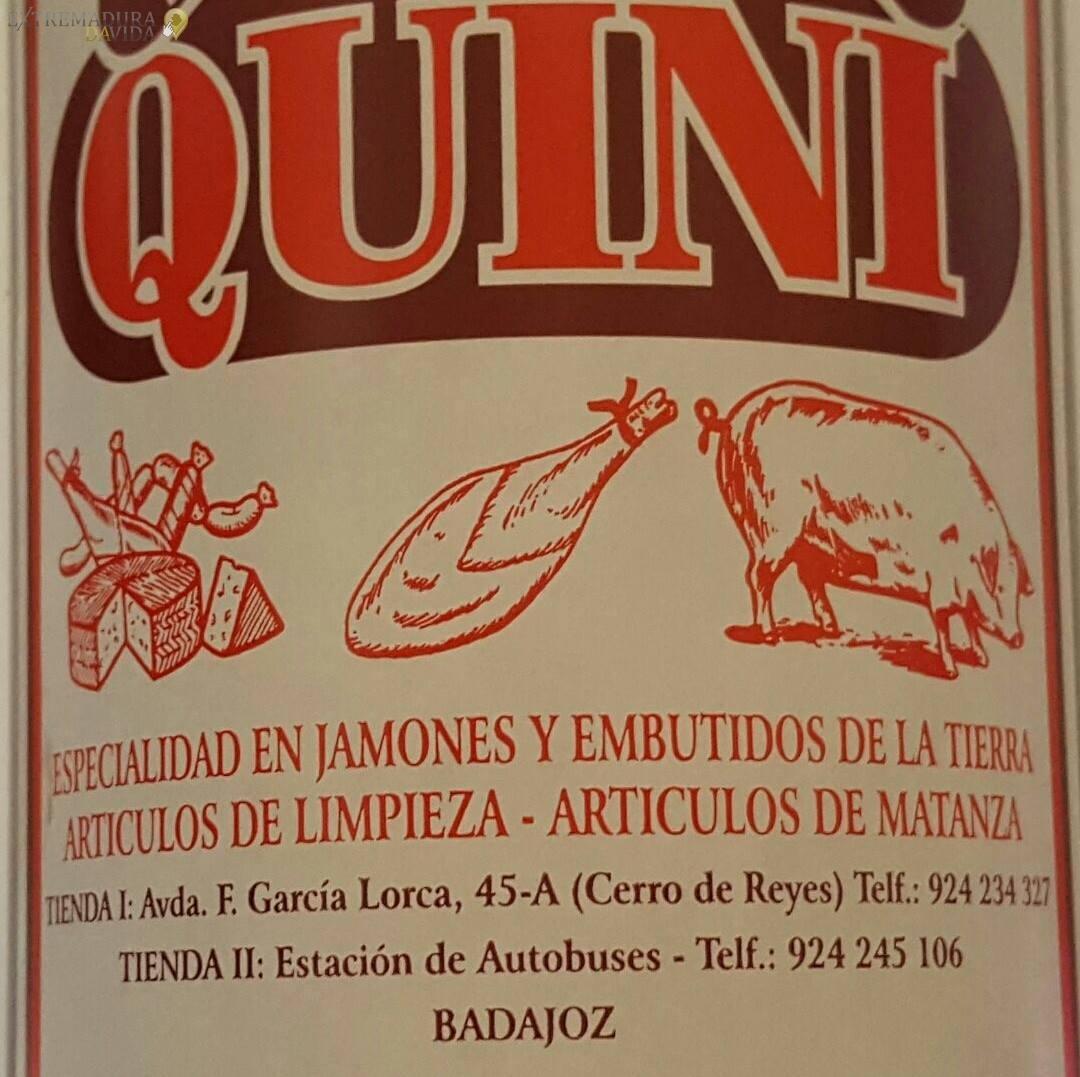 Productos Extremeños en Badajoz Alimentación Quini