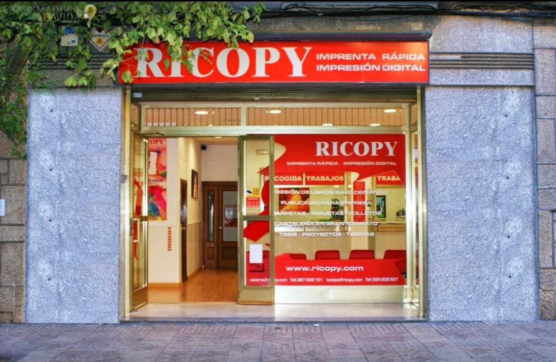 IMPRENTA RICOPY CÁCERES
