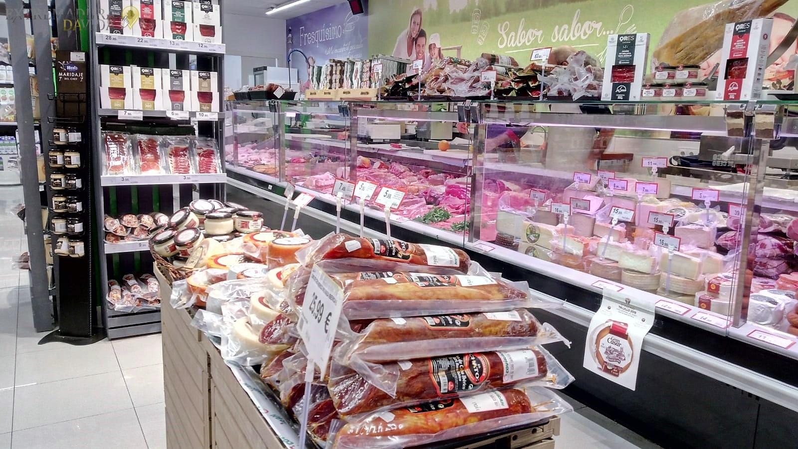 Supermecado en Cáceres Coviran