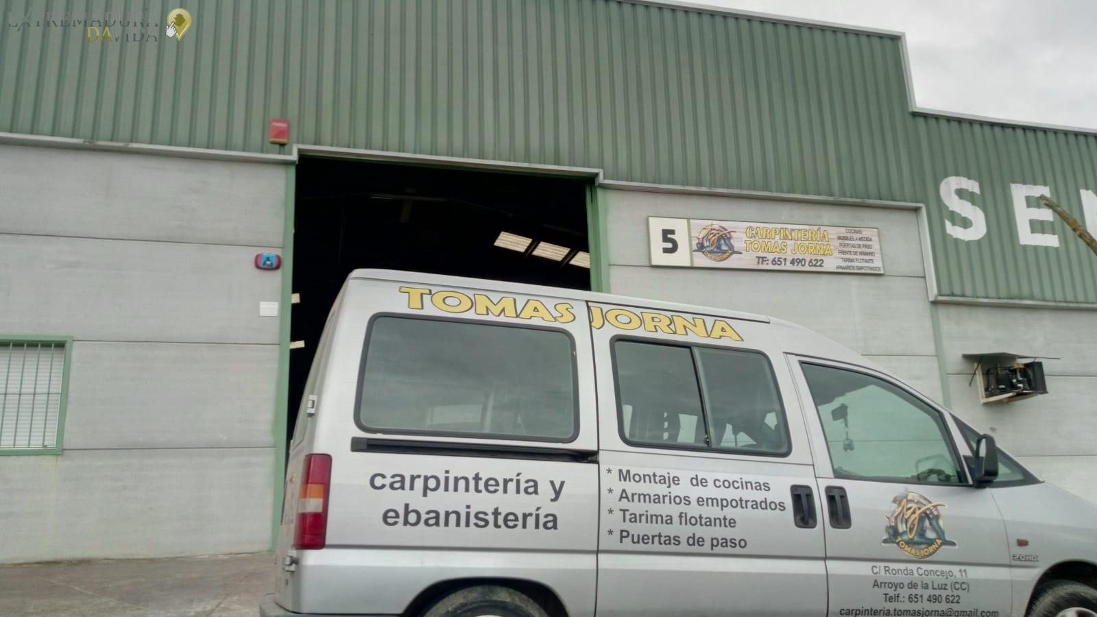 CARPINTERÍA MALPARTIDA DE CÁCERES TOMAS JORNA