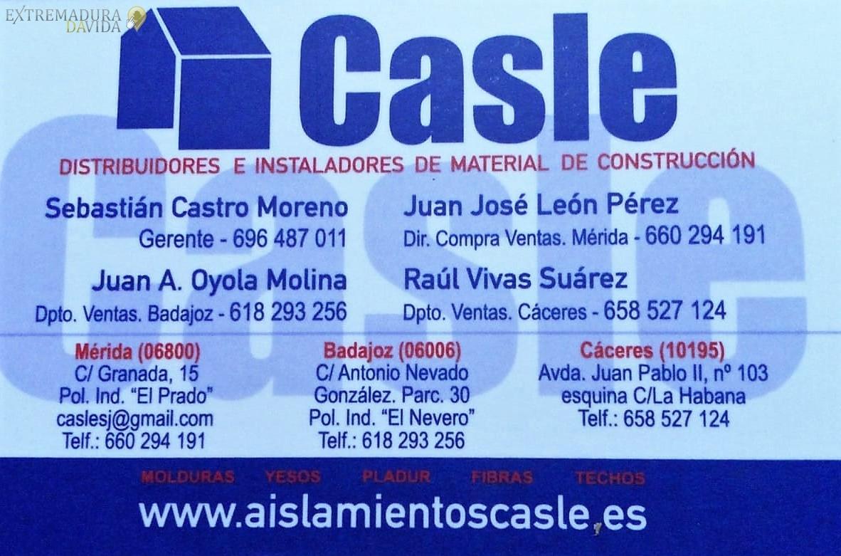 Almacén e instadores de Pladur y Aislamientos en Extremadura Casle Mérida...Cáceres.