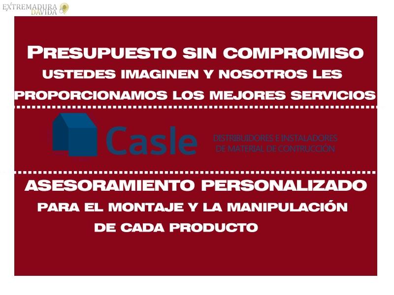 Almacen aislamientos Casle Extremadura