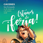 FERIA DE SAN FERNANDO 2018 DE CACERES PROGRAMA