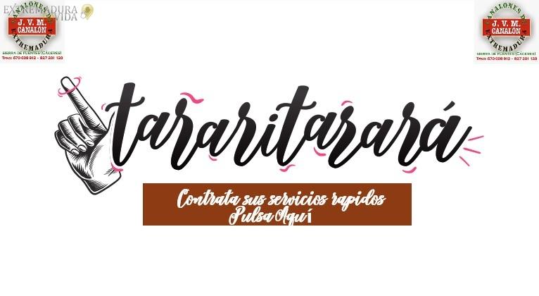 Tienda online Tararitarara Canalones en Cáceres