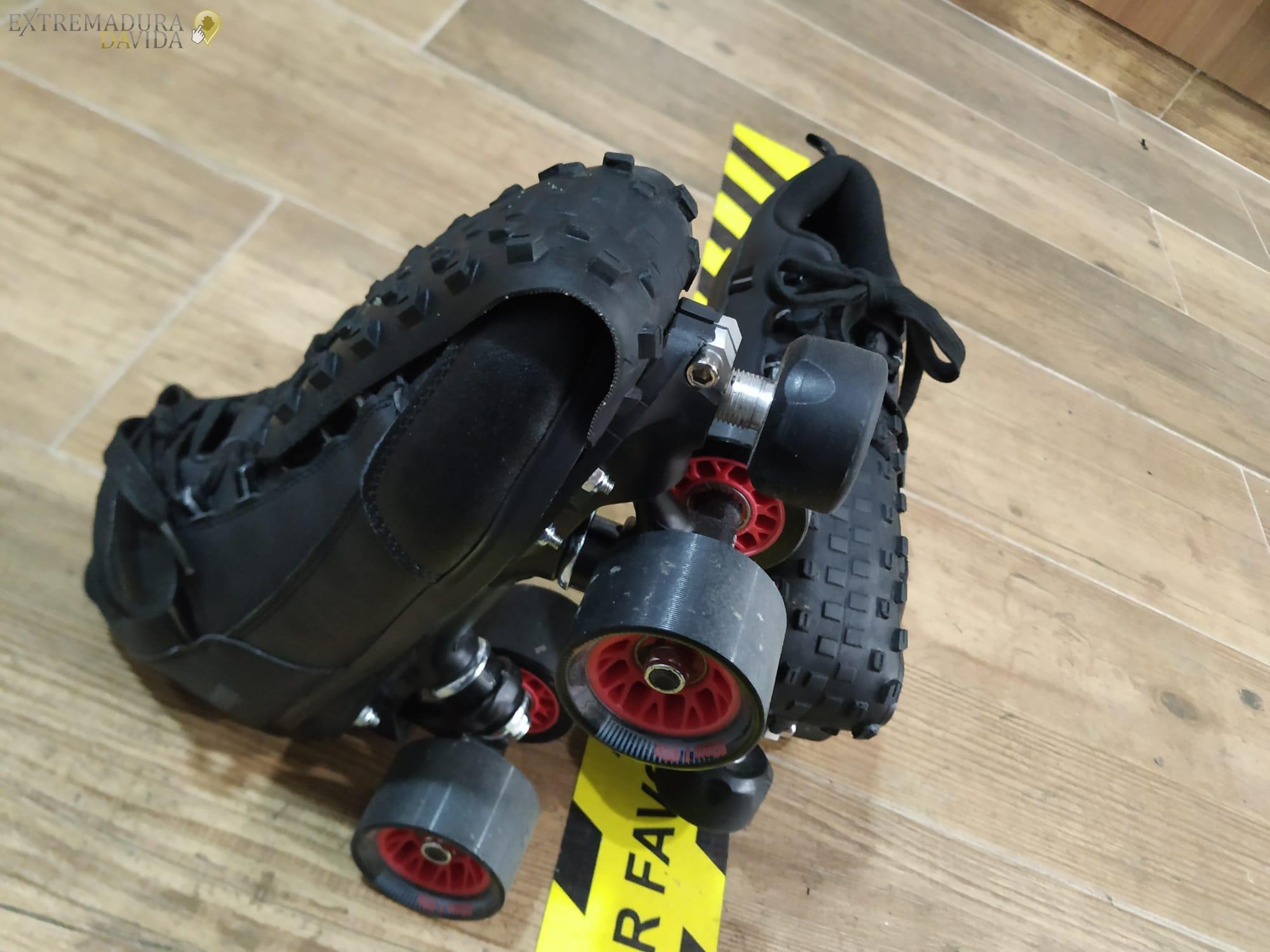 Protecciones puntera en Cáceres para roller derby Reparación de calzado Rapid
