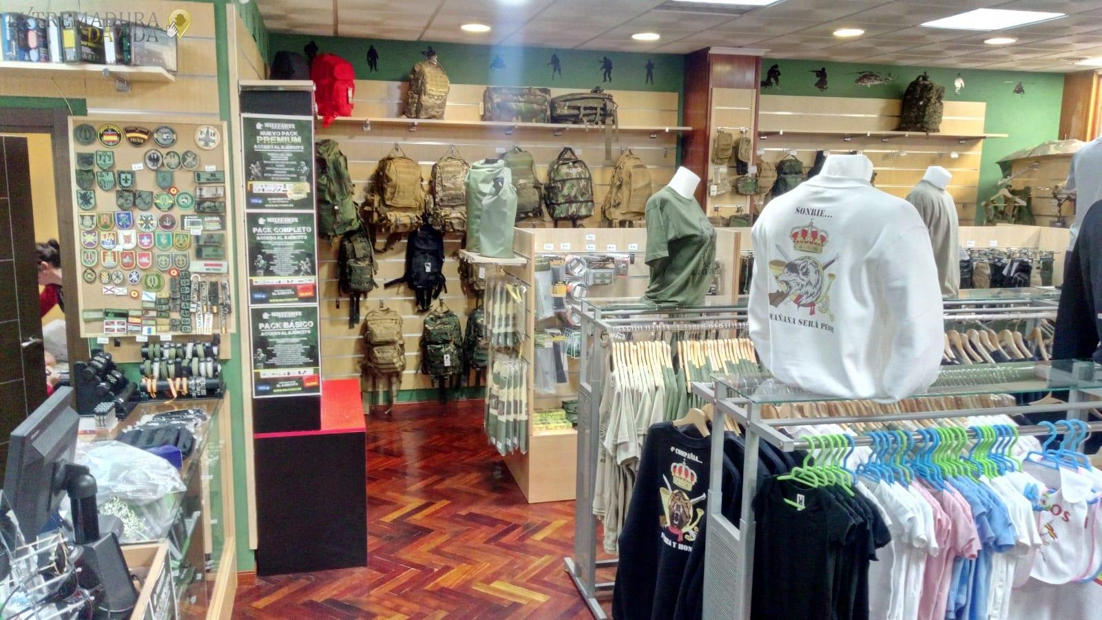 Ropa militar Cáceres