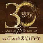 Guadalupe Con Ferrero Rocher y Tele 5 Celebrando Juntos Fin de Año