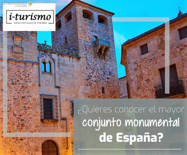 Conocer los monumentos de Cáceres I-Turismo