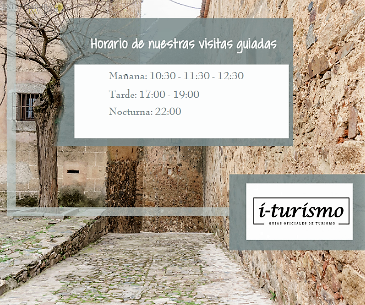 Horarios para visitar monumentos en Cáceres I-Turismo