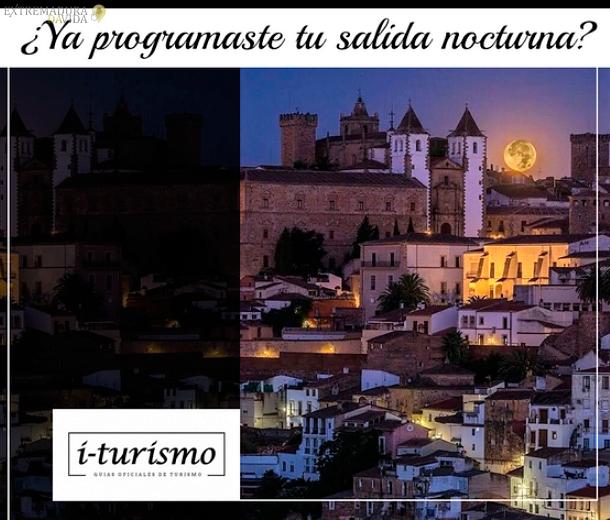 Ocio nocturno en Cáceres I-Turismo Visitas nocturnas